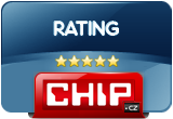 Hard Disk Sentinel 5 stars award by Chip.cz
