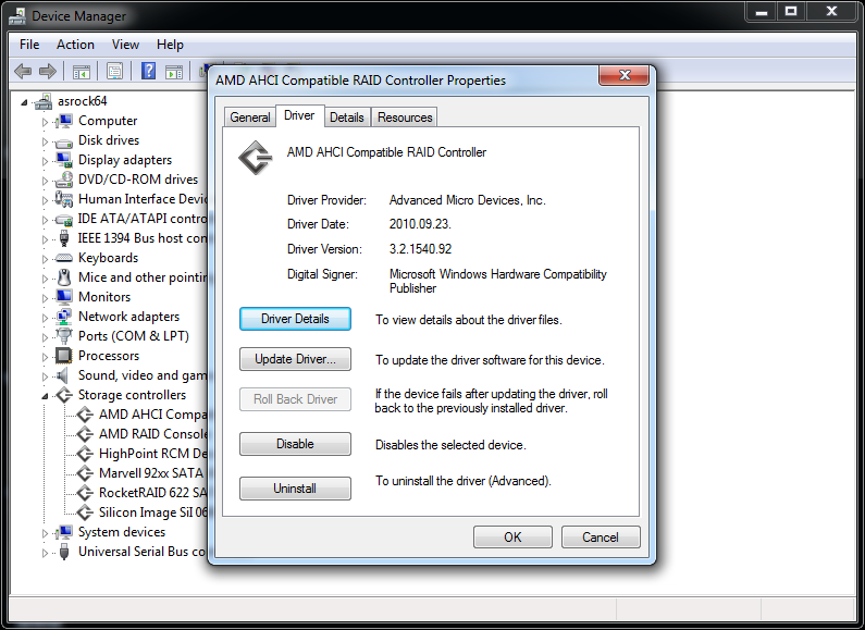 Biostar TA75M+ AMD AHCI Drivers for Windows Download