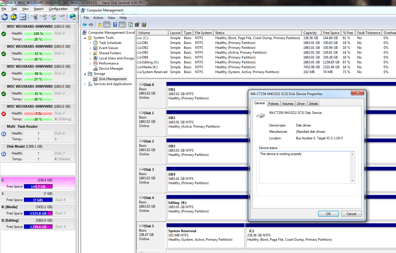 Missing HDD on 2nd Sata Controller • Hard Disk Monitoring