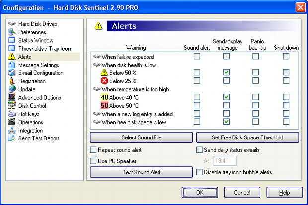 Hard Disk Sentinel Screenshot